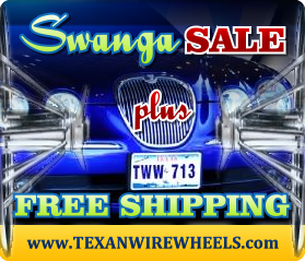 Texan Wire Wheels - Swangas On Sale
